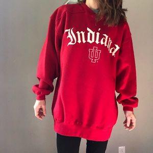 Vintage Indiana University Hoosiers sweatshirt